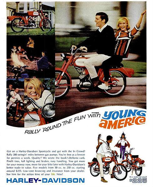 Harley Davidson Werbung