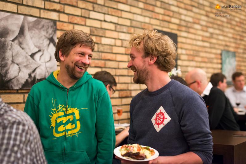 Markus mit Fridel von Jimdo
