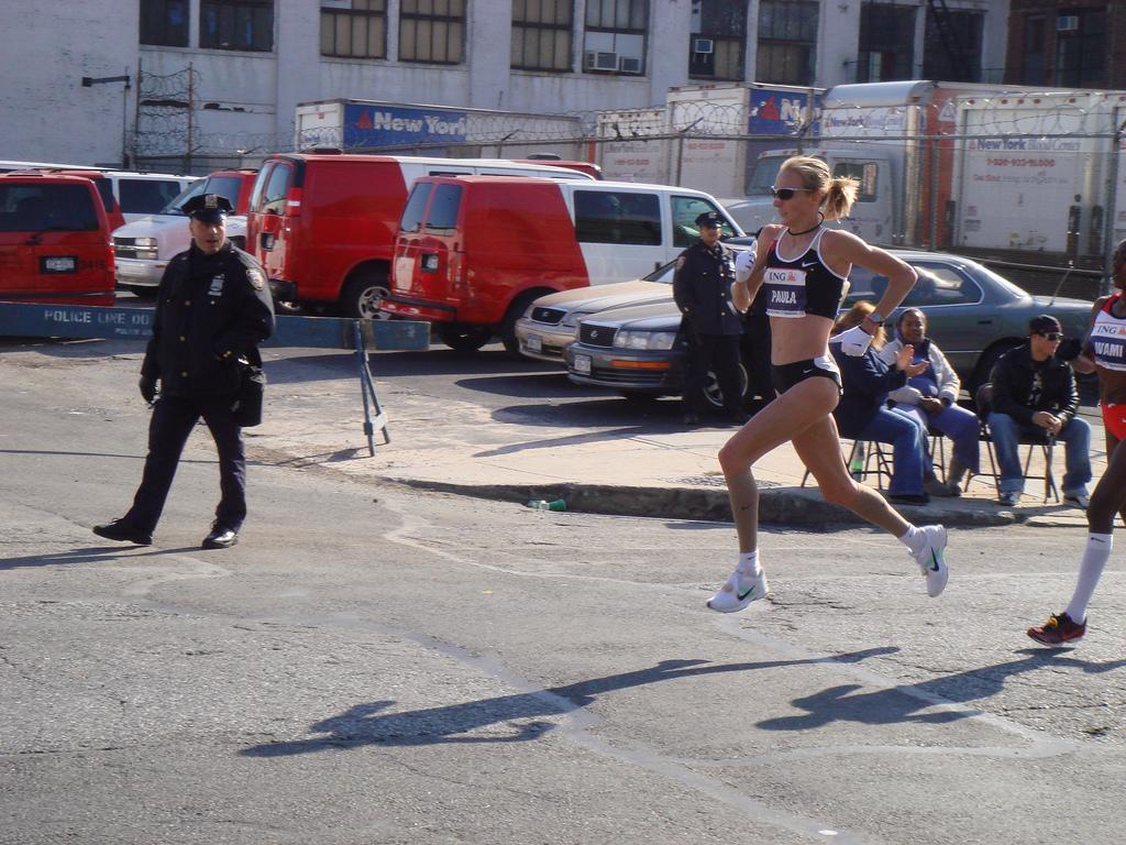 Paula Radcliffe NY Marathon