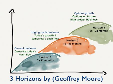 3 Horizons Modell