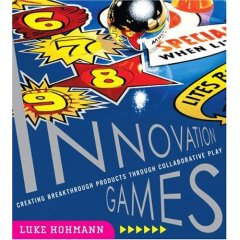 "The ""Innovation Games"" book by Luke"