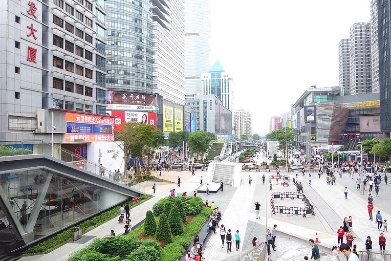 Street Scene Shenzhen